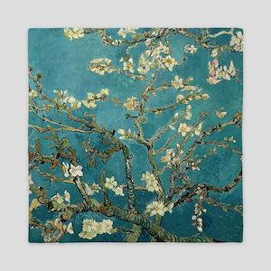 Van Gogh Almond Branches In Bloom Queen Duvet
