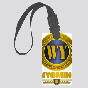 Wyoming Gold Label Large Luggage Tag