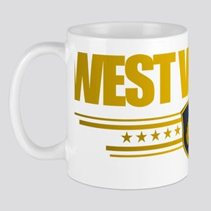 West Virginia Gold Label (P) Mug