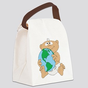 Baby Geo Canvas Lunch Bag