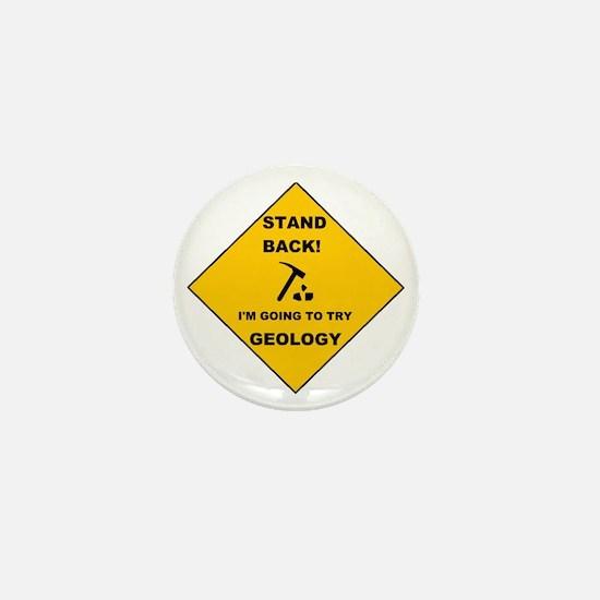 Stand Back Geo 1 Mini Button