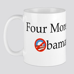 Four More Years of Obamanation Mug