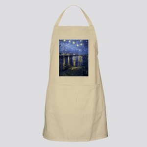 Van Gogh Starry Night Over Rhone Apron