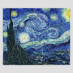 Van Gogh Starry Night King Duvet