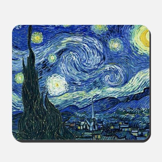 Van Gogh Starry Night Mousepad