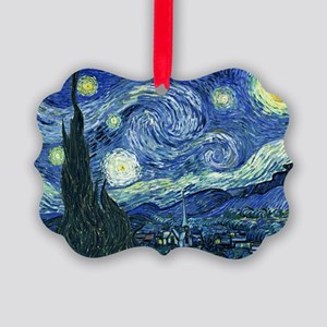 Van Gogh Starry Night Picture Ornament
