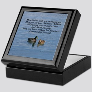 Irish Marriage Blessing Keepsake Box