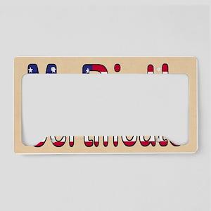 Messenger Bag 3 License Plate Holder