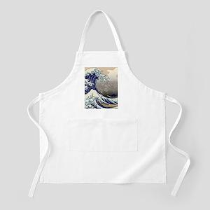 Hokusai The Great Wave off Kanagawa Apron