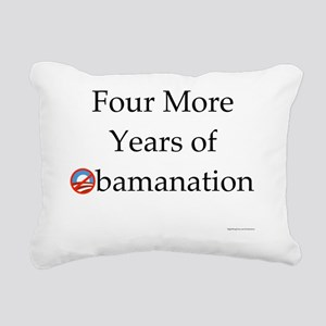 Four More Years of Obama Rectangular Canvas Pillow