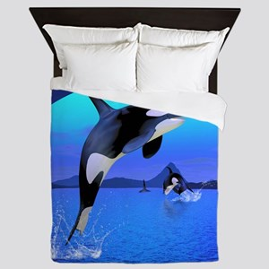 orca_60_curtains_834_H_F Queen Duvet