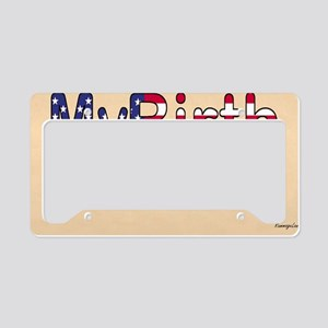 Shoulder Bag License Plate Holder