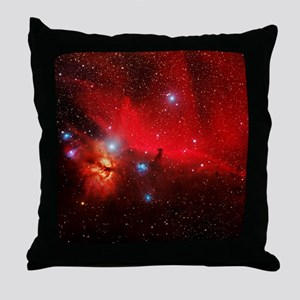 Horsehead and Flame nebulae Throw Pillow
