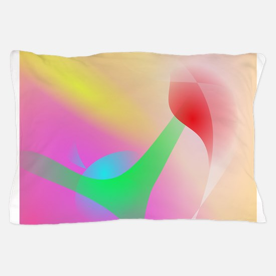 Feather in the Air Pillow Case