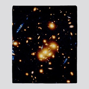 HST view of gravitational lens 0024  Throw Blanket