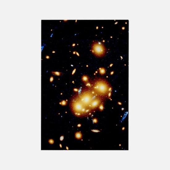 HST view of gravitational lens 00 Rectangle Magnet