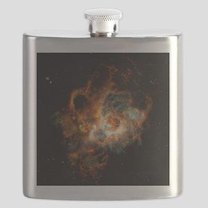Hubble Space Telescope view of nebula NGC 60 Flask