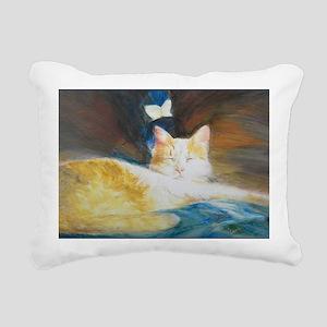Mr. Puff Dreams Rectangular Canvas Pillow