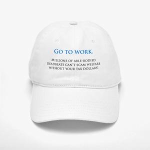 Go to work Cap
