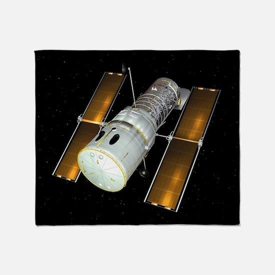 Hubble Space Telescope, artwork Throw Blanket