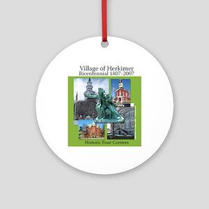 Herkimer Bicentennial Ornament (Round)