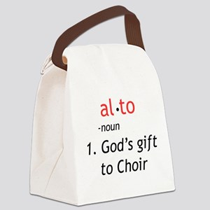 Alto Definition Canvas Lunch Bag