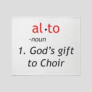 Alto Definition Throw Blanket