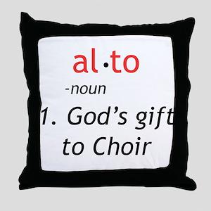 Alto Definition Throw Pillow