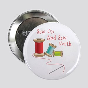 """Sew on and Sew Forth 2.25"""" Button"""