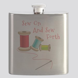 Sew on and Sew Forth Flask