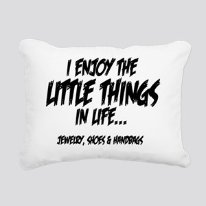 Little Things - Jewelry Rectangular Canvas Pillow