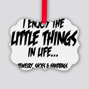 Little Things - Jewelry Picture Ornament