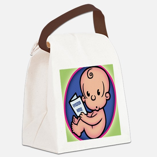 eviction-0311-BUT Canvas Lunch Bag