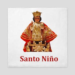 Santo Nino Queen Duvet