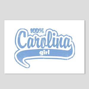 """100% Carolina Girl"" Postcards (Package of 8)"