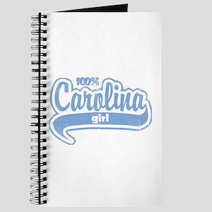 """100% Carolina Girl"" Journal"
