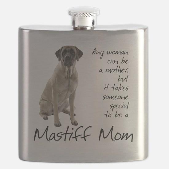 Mastiff Mom Flask