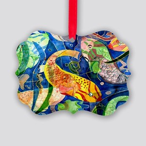 Tropical Fish Picture Ornament