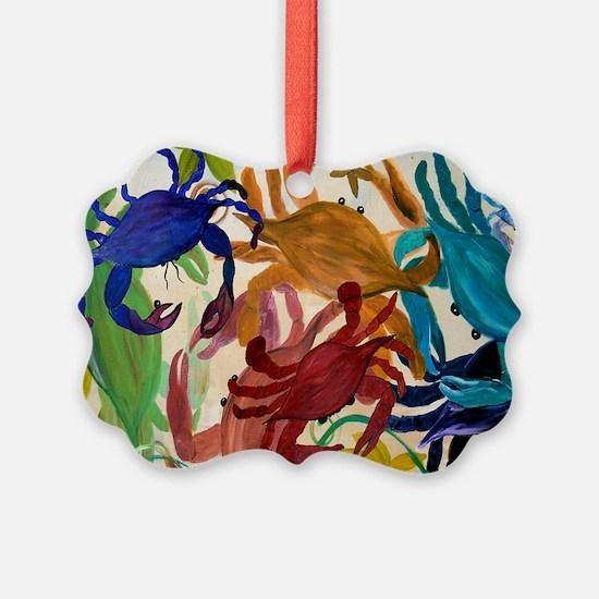 Crab Party Ornament
