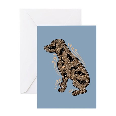 The Inside Dog Greeting Card