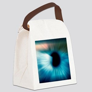 Human eye Canvas Lunch Bag