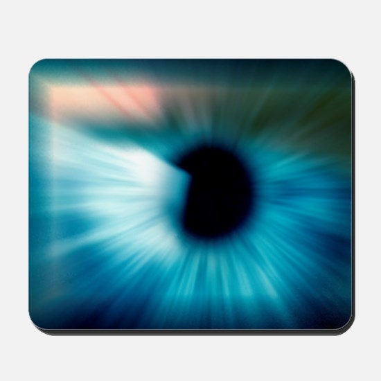 Human eye Mousepad
