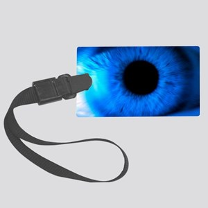 Human eye Large Luggage Tag