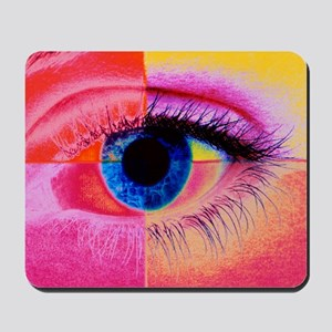 Human eye Mousepad