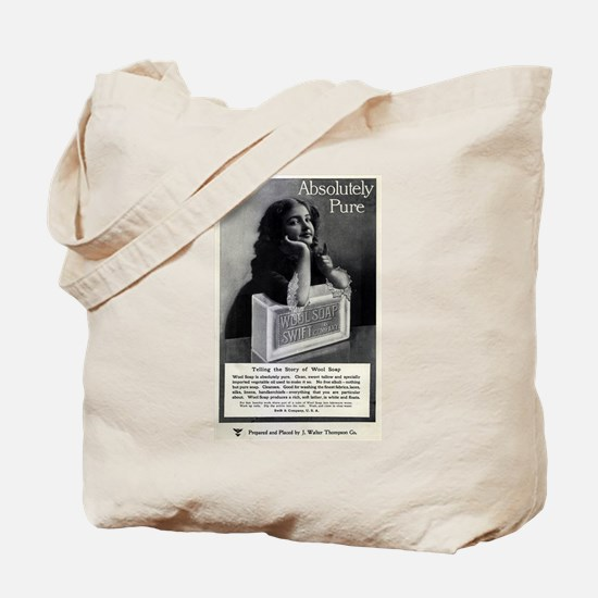 Swift and Company Wool Soap Tote Bag