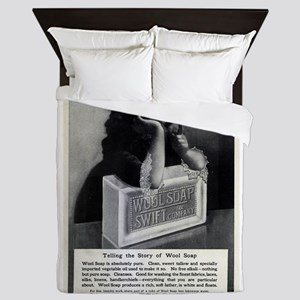 Swift and Company Wool Soap Queen Duvet