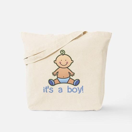 New Baby Boy Cartoon Tote Bag