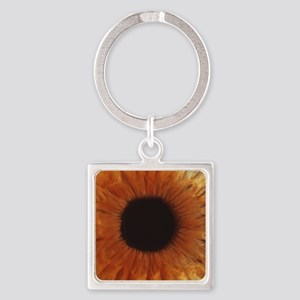 Human iris Square Keychain