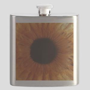 Human iris Flask