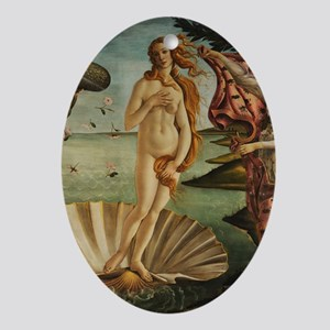Botticelli Birth Of Venus Oval Ornament